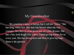 short essay on my grandmother short essay on my grandmother essay my family english short essay on my family in english
