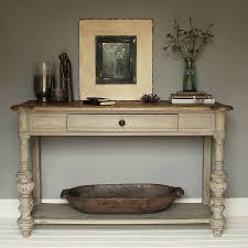 vintage console table. Grey Oak Console Table Vintage O
