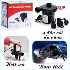 ⭐Bơm điện hút chân không 2 chiều mini - Máy Bơm Hút Điện Đa Năng SH  Wenbo-196 - Bơm Phao Bơi Nhà Hơi Nệm Hơi Bể Bơi Phao -Bơm công suất cao-