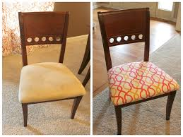 Furniture: Reupholster Dining Room Chairs Lovely How To Reupholster A  Dining Room Chair Fortikur -