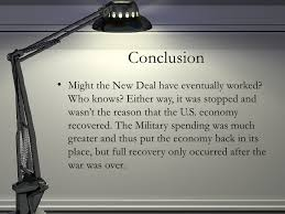 the great depression solution conclusion
