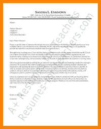 teaching cover letter format best teacher cover letter examples livecareer good sample of
