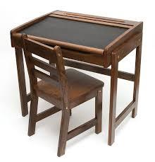 com lipper international 554wn child s chalkboard desk and chair 2 piece set walnut finish kitchen dining