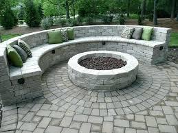 outdoor fire pit seating outdoor fire pit seating area ideas