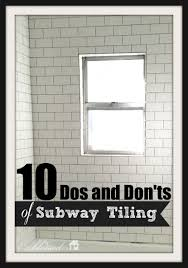 10 dos and don ts of subway tiling a tub surround myblessedlife net