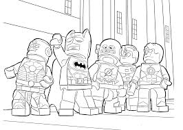 Small Picture Lego Heroes Coloring Page For Boys Printable Free Pages diaetme