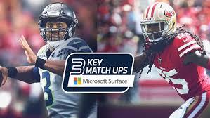 2019 Week 10 Key Matchups Seahawks At 49ers
