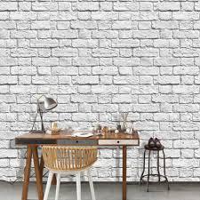 Rustieke Baksteen Grijs Muur Livingroom Achtergrond 3d Baksteen