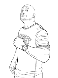 Small Picture WWE coloring pages Free Coloring Pages