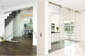 modern glass barn door. Modern Glass Barn Door For Popular Hardware Contemporary B