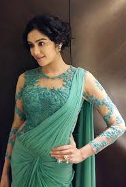 Full Sleeves Saree Designs These Are The Most Gorgeous Full Sleeve Net Blouse Designs