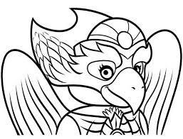 Small Picture Eris is Brilliant in Strategist in Lego Chima Coloring Pages