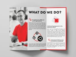 Tri Fold Brochure By Sirajum Munir Galib On Dribbble