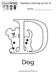 Small Picture Letter D Dog Coloring Sheet Letter D Coloring Pages Preschool