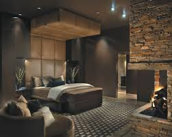 bedroom decorating fireplace
