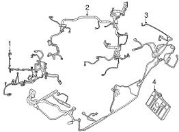 wire harness genuine ford be8z 14290 cb genuine factory oem wire harness ford be8z 14290 cb
