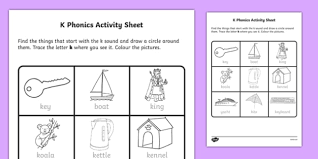You can probably tell my the shear amount of phonics activities and printables i'm about to share. K Phonics Worksheet Teaching Resources Teacher Made