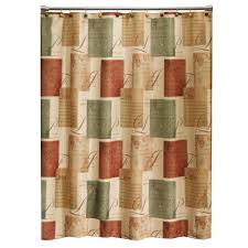 rust colored shower curtain epienso with dimensions 1000 x 1000