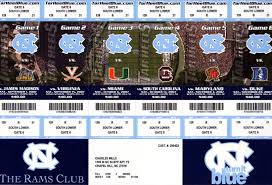 Photo 2007 Unc Football Season Tickets Tar Heel Times