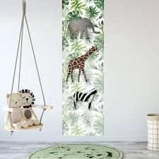 Bolcom Kinderbehang Paneel Jungledieren
