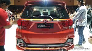 new car launches honda mobilio2017 Honda Mobilio introduced in Indonesia