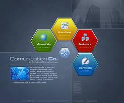 Flash Website Templates Gorgeous Communications Flash Template Best Website Templates