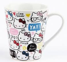 Get the best deals on hello kitty coffee mug in collectible hello kitty items when you shop the largest online selection at ebay.com. Hello Kitty 14 Oz Ceramic Mug Love Forever Hello Kitty Kitchen Hello Kitty Items Hello Kitty