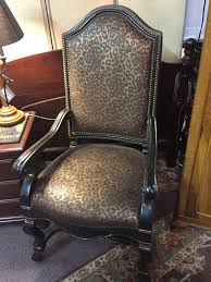 Listed Purrfectly Posh Cheetah Print Chair— $180