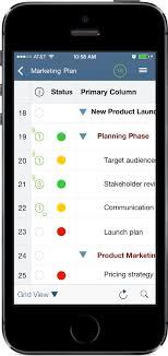 Gantt Chart Mobile Smartsheet Launches Version 2 0 Of Ipad Iphone App Bringing