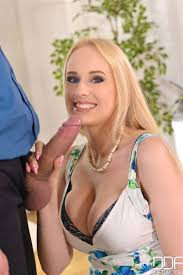 Busty Angel Wicky takes on fat cock in her jewelry DDF Prod 16.