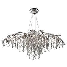 unique chandelier lighting. autumn twilight mystic silver 12light chandelier unique lighting