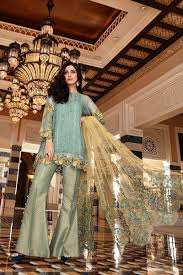 Pakistani Designer Pants Latest Pakistani Dresses Styles Pairing Bell Bottom Pants