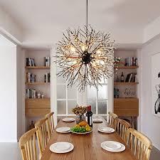 modern chandeliers firework led vintage wrought iron with 8 lights chandelier island pendant lighting living room