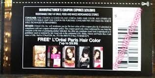 Find current loreal coupons and loreal deals here! Free L Oreal Hair Color