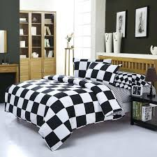 home textile black and white bedding sets cover sheet pillow quilt duvet cotton king queen double