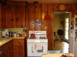 Kitchen Paneling Knotty Pine Paneling And Cabinets Kitt Haman Design
