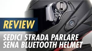 Sedici Strada Parlare Sena Bluetooth Helmet Review At Cyclegear Com