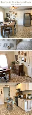 Painting Floor Tiles In Kitchen 17 Best Ideas About Painted Kitchen Floors On Pinterest Interior