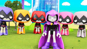 Raven teen titans parody flash