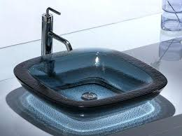 kohler glass sink bath room sink designs bathroom sinks from a glass bathroom kohler antilia glass
