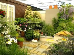 ideas for small patio gardens garden designs best on courtyard medium size of
