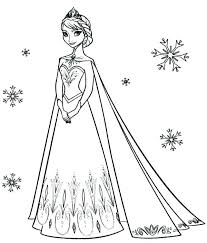 Free Online Elsa Coloring Pages Coloring Pages Free Top Queen