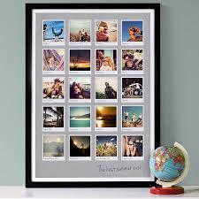 20 images 23mm black frame light grey background