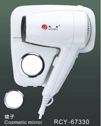 1200w white plastic professional hair dryer wall mounted hair dryer bathroom use