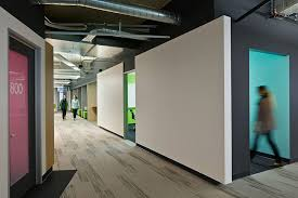 innovative ppb office design. intermediate meeting areas between the bars of conference rooms provide alternate zones for collaboration and innovative ppb office design