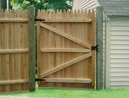 wood fence double gate. Home Design: Quickly Wood Fence Gate Hardware The Depot From Double R