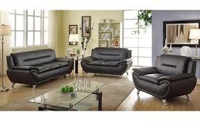 leather couch set mina modern black leather sofa set nndvxhe