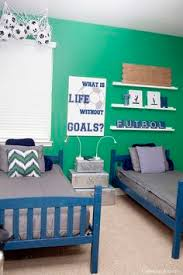 Boys Soccer Room Makeover