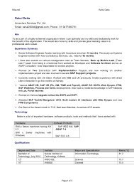 Rsum Rahul Datta Rahul Datta Accenture Services Pvt. Ltd. Email:  rahul2008d@gmail ...