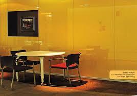 decorative wall panels say hello to yellow